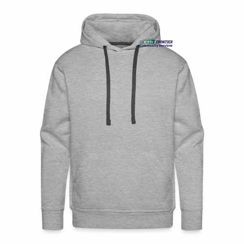 Frontier Logo - Full Color - Men's Premium Hoodie