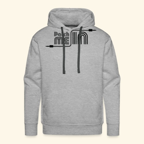 Patch Me In - Black Logo - Men's Premium Hoodie