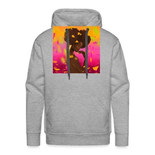 Abstract Golden Girl - Men's Premium Hoodie