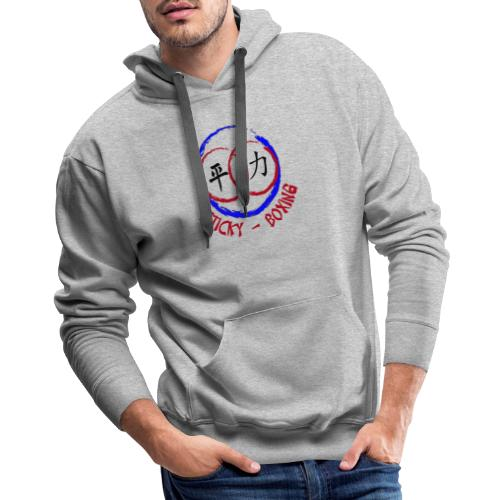 Sticky-Boxing Martial Arts - Men's Premium Hoodie