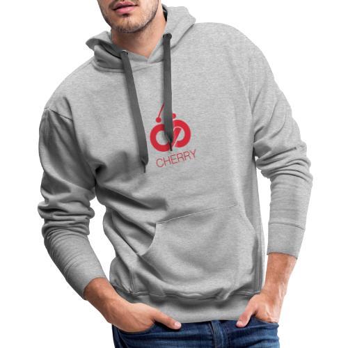 Cherry Red Logo - Men's Premium Hoodie