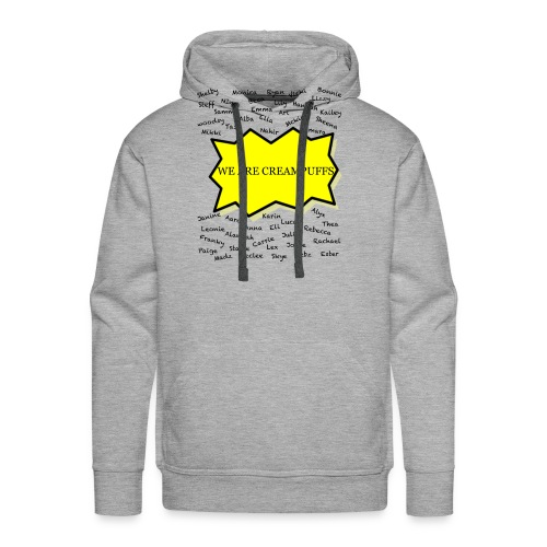 Creampuff Awareness - Men's Premium Hoodie