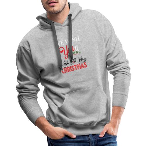 Raccoon Christmas - Men's Premium Hoodie