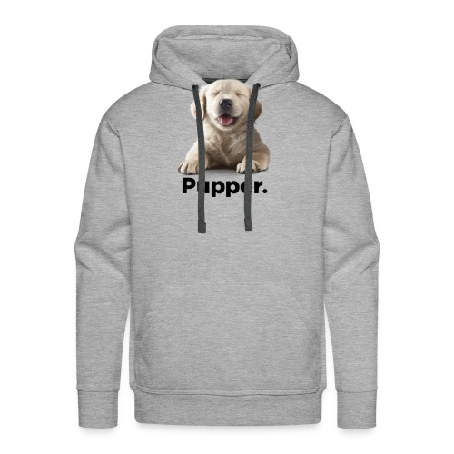 Pupper dog - Men's Premium Hoodie