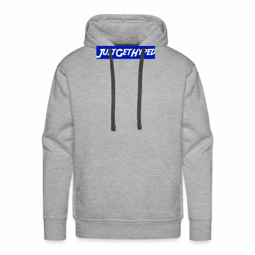 JustGetHyped Supreme Type - Men's Premium Hoodie