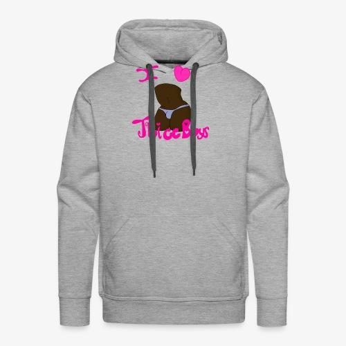 Thicc Boys (Dark Version) - Men's Premium Hoodie