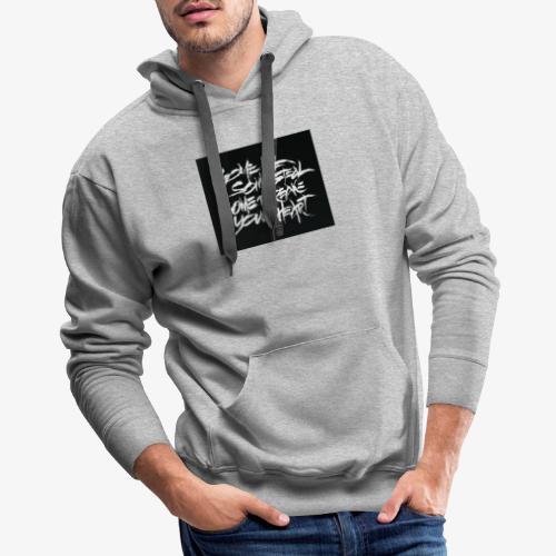 XXXTENTACION DESIGNED SHIRT - SAD ! - Men's Premium Hoodie