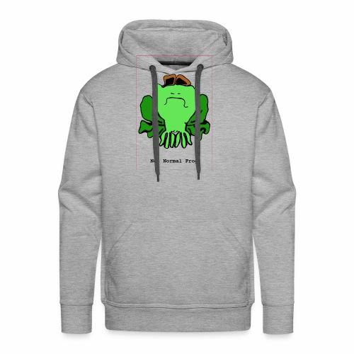 not normal frog - Men's Premium Hoodie