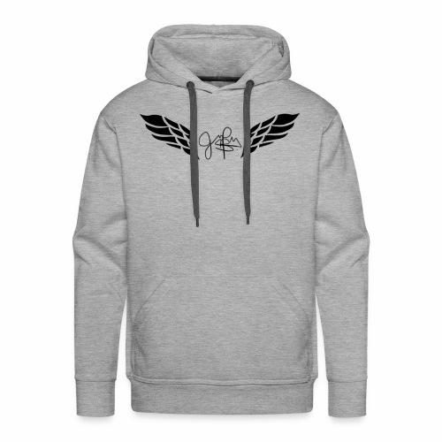 JPeralta Signature Logo - Men's Premium Hoodie