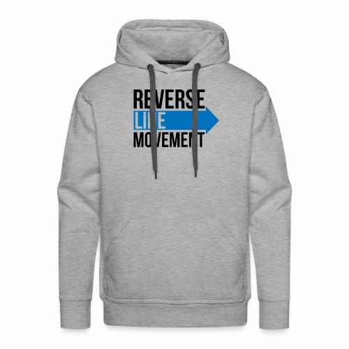 Reverse Line Movement - Men's Premium Hoodie