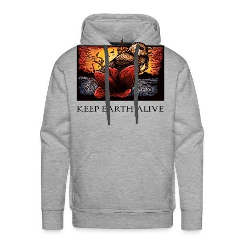 Keep Earth Alive - Men's Premium Hoodie