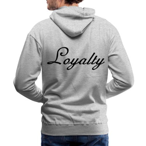 Loyalty Brand Items - Black Color - Men's Premium Hoodie