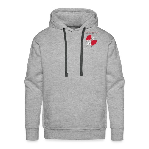 IBRC Pocket Logo with Buckle Up Brutus on Back - Men's Premium Hoodie