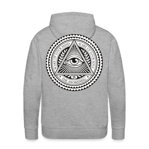 all seeing eye logo png - Men's Premium Hoodie