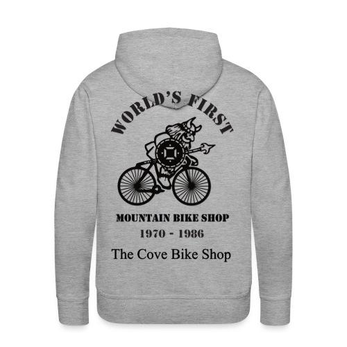 The Cove Bike Shop VIKING on back - Men's Premium Hoodie