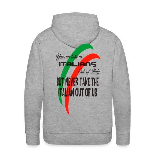 Italian top - Men's Premium Hoodie