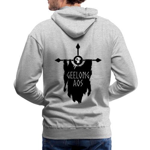Geelong AOS - DESTRUCTION - Men's Premium Hoodie