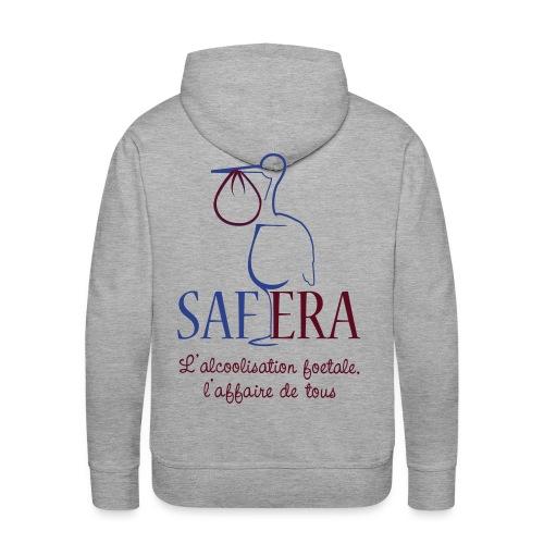 Logo Safera 2 c - Men's Premium Hoodie