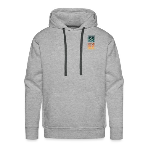 Ventures Belong To The Adventurous || VAN LIFE - Men's Premium Hoodie