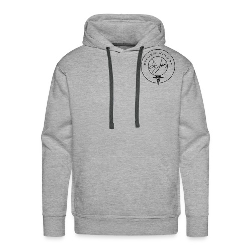 DR JOIS ICON png - Men's Premium Hoodie