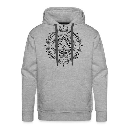 Merkaba Music Symbol only - Men's Premium Hoodie