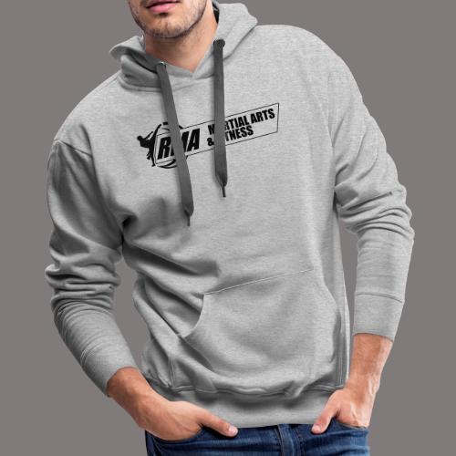 RMA-full-logo-Front-1clr- - Men's Premium Hoodie