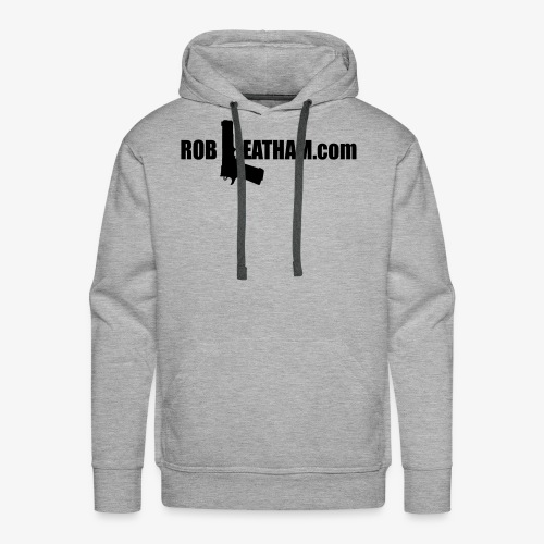 Official Rob Leatham Logo - Men's Premium Hoodie