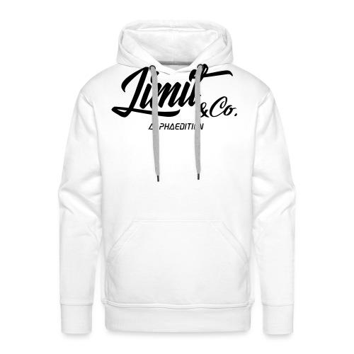 White T-Shirt Alpha Edition 2.0 (Women) - Men's Premium Hoodie