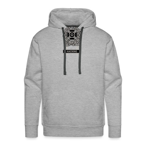 Expert Hacker Qualification Badge - Men's Premium Hoodie