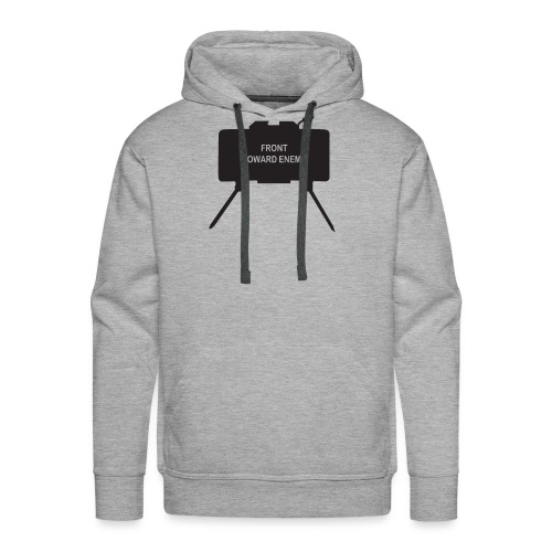 Claymore Mine (Minimalist/Dark) - Men's Premium Hoodie