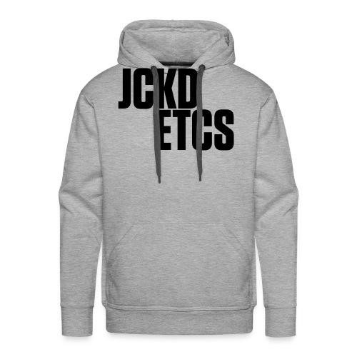 JE_BACK - Men's Premium Hoodie