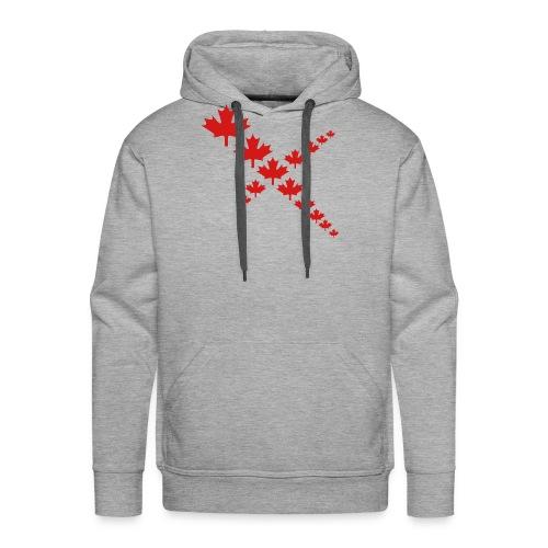 Maple Leafs Cross - Men's Premium Hoodie