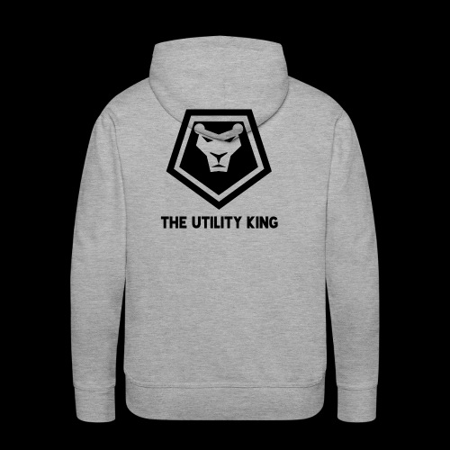 The Utility King - Men's Premium Hoodie