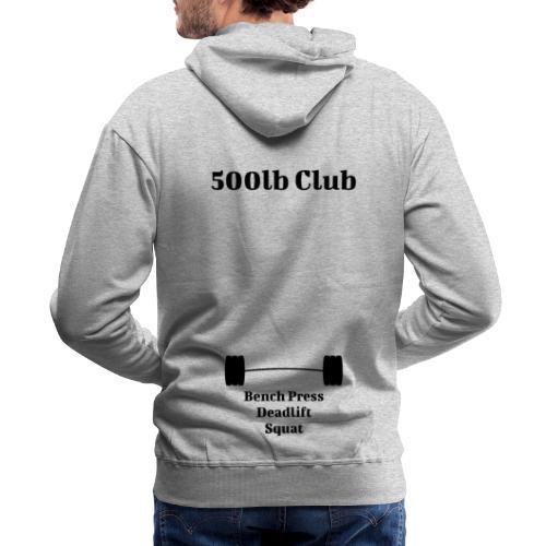 500lb Club - Men's Premium Hoodie