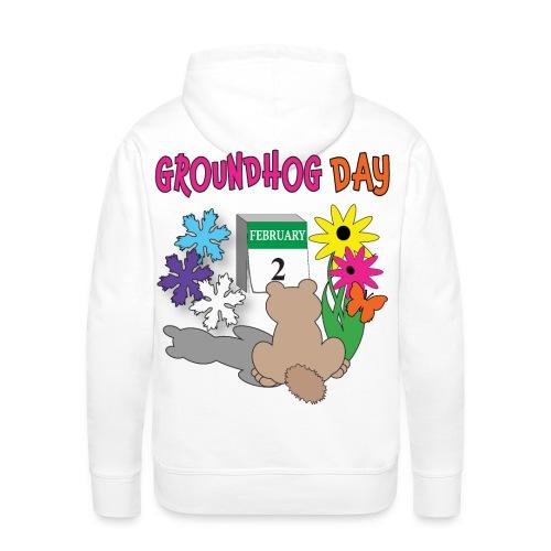 Groundhog Day Dilemma - Men's Premium Hoodie