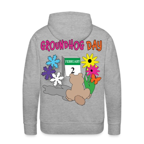 Groundhog Day Dilemma - Men's Premium Hoodie