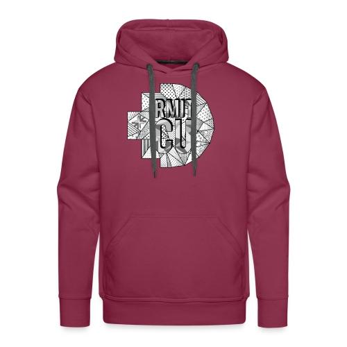 RMITCU Hoodie Logo Greyscale - Men's Premium Hoodie