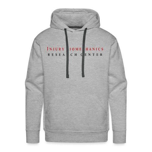 IBRC Classic with Buckle Up Brutus Back - Men's Premium Hoodie