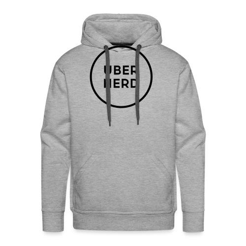 uber nerd logo - Men's Premium Hoodie