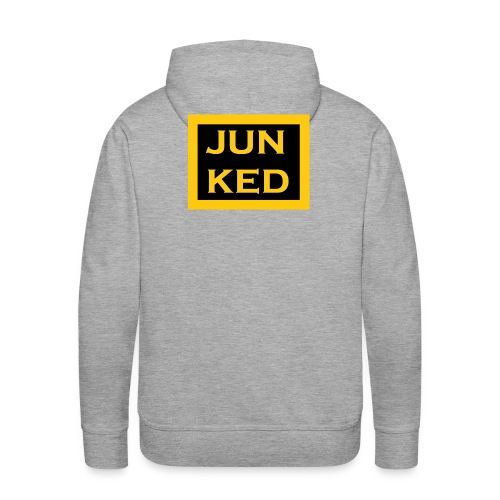 Super Gold Edition JUNKED Design - Men's Premium Hoodie
