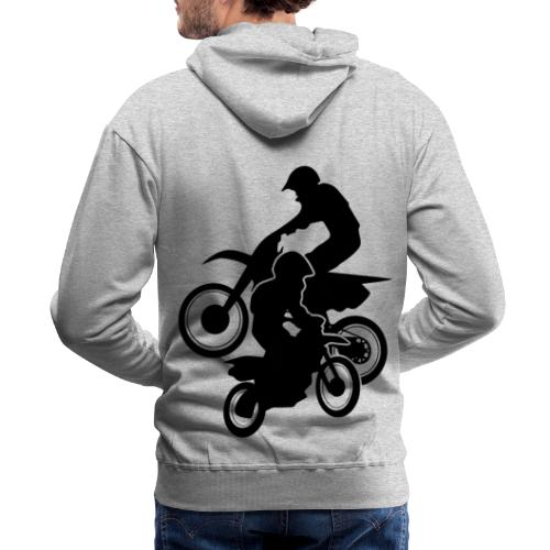 Motocross Dirt Bikes Off-road Motorcycle Racing - Men's Premium Hoodie