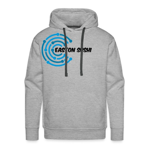 Easton Sushi Twirl Design - Men's Premium Hoodie