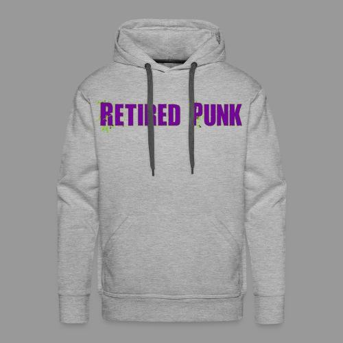 Retired Punk 001 - Men's Premium Hoodie