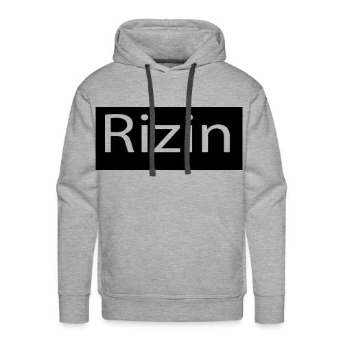 Rizin Black - Men's Premium Hoodie