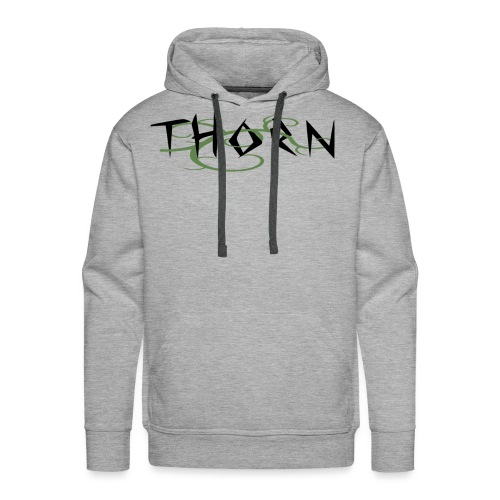 Thorn Vines Copy png - Men's Premium Hoodie