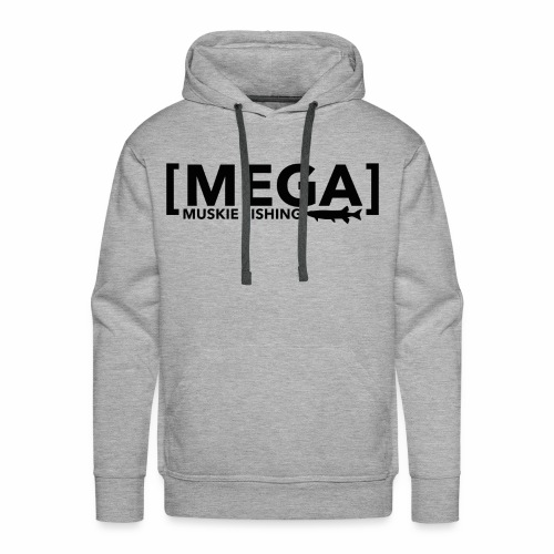 Mega Logo New - Men's Premium Hoodie
