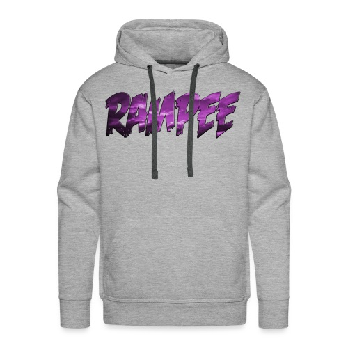 Purple Cloud Rampee - Men's Premium Hoodie