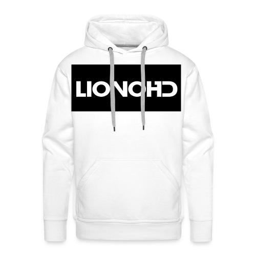 LiovoHD White - Men's Premium Hoodie
