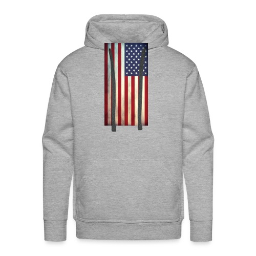 the american flag wear and Accessories - Men's Premium Hoodie