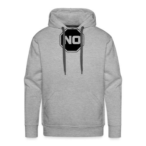 stopp say no - Men's Premium Hoodie